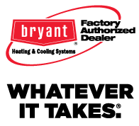bryant factory authorized dealer logo