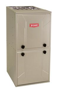Bryant high efficency gas furnace